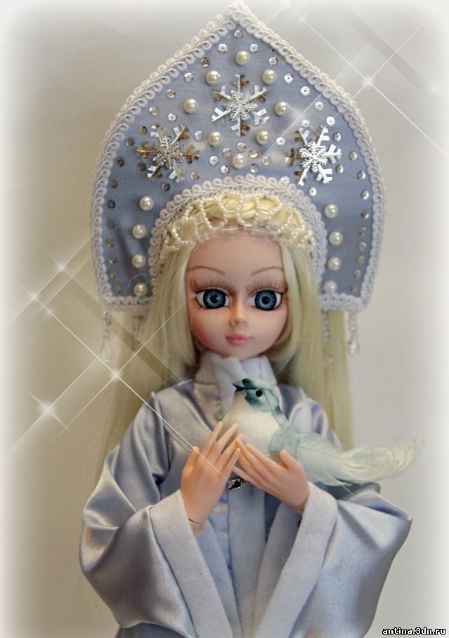 Кукла снегурочки своими руками